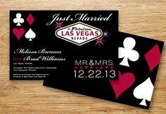 Las Vegas, Casino, Bachelor Party, Bachelorette Invitation, Las Vegas Invite, 21st, 30th Birthday, Vegas Wedding Printable, Front and Back Included.