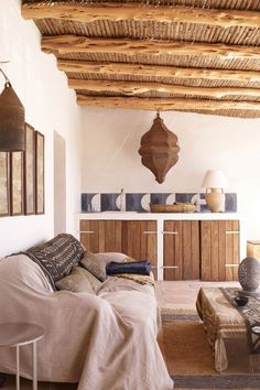 The very chill house of Jade Jagger in Formentera Jade Jagger, Home Interior Design, Exterior Design, Interior And Exterior, Southwest Style, Moroccan Decor, Sweet Home, New Homes, House Design