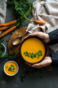 Krémová mrkvová polievka / Creamy carrot soup