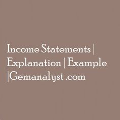 The income statement starts from the top line which is the revenue and work its way down to the bottom line which is the net income. We take the net revenue and subtracting expenses (including interests and tax) to arrive at net income. Accounting Notes, Net Income, Income Statement, Way Down, Top, Crop Shirt, Blouses