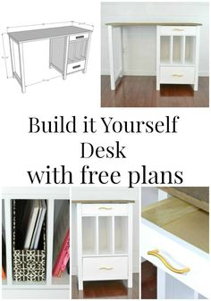 DIY Desk | Chatham Desk plans by Ana White