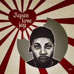 JLJ (Japan love Jay) - #illustration #jdilla #jaydee #dilla #manga #cartoon #hiphop #music