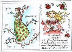 Christmas Fairy & Goddess - Stamp Set 469