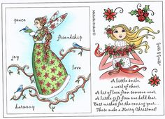 Stamp Set 469 - Christmas Fairy & Goddess