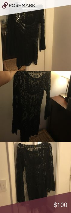 Free people lace dress Impossible to find a dress like this! Love, just need a slip underneath which I have to for an extra $10 Free People Dresses Mini