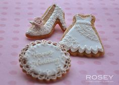 Classic Lace Wedding Cookie - 1