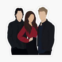 The Vampire Diaries Characters, Vampire Diaries Poster, Vampire Diaries Quotes, Vampire Diaries Wallpaper, Damon Salvatore Vampire Diaries, Vampire Diaries The Originals, Vampire Drawings, Daimon Salvatore, Cute Laptop Stickers