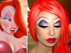Makeup by me: Jessica Rabbit