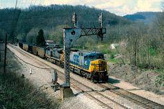 CSX - Fort Spring, WV, via Flickr.