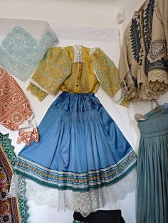 Complete Woman's Slovak Folk Costume from Krakovany / hand embroidery Costumes Around The World, Folk Embroidery, Folk Costume, Traditional Design, Traditional Dresses, Folklore, Beautiful Dresses, Slovak Recipes, Culture