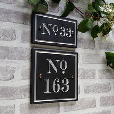 British Slate Vintage Style House Number - Marbletree