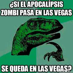 Aquí los mejores memes de FilosoRaptor, un velociraptor filósofo que se hace…