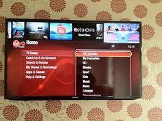 "46"" Samsung Smart TV. Neatly installed http://www.aerialwaves.co.uk/"