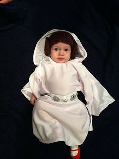 Adorable Geek-a-bye Baby customer! D  sc 1 st  Pinterest & Baby Princess Leia Costume | HALLOWEEN COSTUMES u0026 DRESS UP PLAY FOR ...