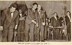 عبد الوهاب وعبد الحليم والموسيقار علي اسماعيل