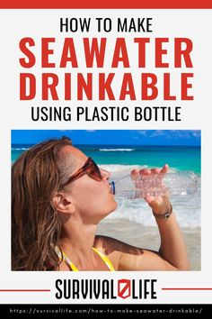 Being lost at sea and risk dying of dehydration is the world's greatest irony. Therefore, learning how to make seawater drinkable is a vital skill every survivalist needs. Here is a detailed six-step guide. #drinkableseawater #seawater #dehydration #survivalskill #survivaltips #survival #preparedness #gunassociation Survival Life, Survival Food, Emergency Preparedness, Survival Skills, A Perfect Circle, Water Purification, Water Fasting, Plastic Bottles, Step Guide