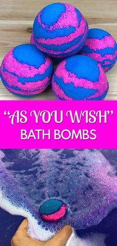 "DIY ""As You Wish"" Bath Bombs"