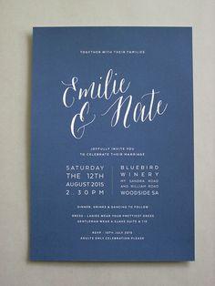 http://Papyrus Design Navy Invitation0003