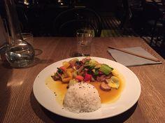 #duck #mango #lime #rice