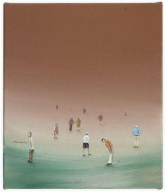Pensionistenausflug, 40 x 34 cm, Oil on canvas Oil On Canvas, Contemporary Art, Artist, Painting, Kunst, Painting Art, Artists, Paintings, Painted Canvas