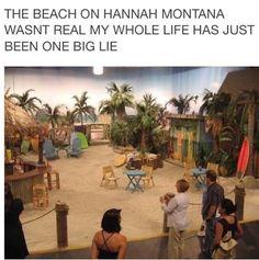 Imagen de childhood, hannah montana, and lie