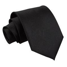 Robin/'s Egg Blue Boys Elasticated Tie Satin Plain Solid Pre-Tied Necktie by DQT