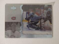 1996-97 Upper Deck Ice #90 Jose Theodore Montreal Canadiens Hockey Card #UpperDeck #MontrealCanadiens