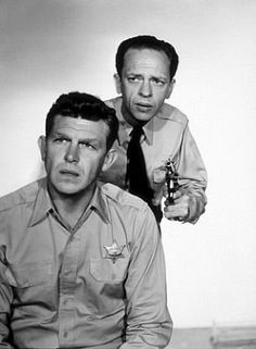 Andy & Barney {The Andy Griffith Show}