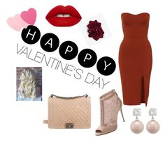 """""""Be my Valentine..."""" by ahmetovic-mirzeta ❤ liked on Polyvore featuring Dolce&Gabbana, Chanel, Lime Crime, Sephora Collection, women's clothing, women, female, woman, misses and juniors"""