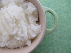 Lemon Lime Sugar Scrub