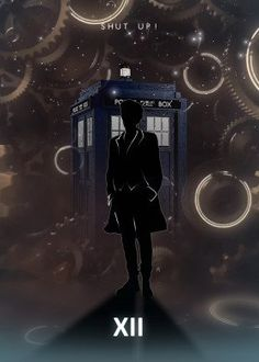 """Want a metal print copy?: Visit Artist Store Description: Doctor Who With TARDIS Doctor artwork by artist """"Rykker Part of a s Doctor Who Meme, Doctor Who Clara, Doctor Who Poster, Matt Smith Doctor Who, Peter Capaldi Doctor Who, Doctor Who Tumblr, Doctor Who Fan Art, Doctor Humor, David Tennant Doctor Who"""