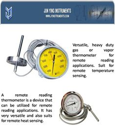 A remote reading thermometer is a device that can be utilized for remote reading applications. It has very versatile and also suits for remote heat sensing.