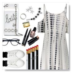 """""""Life in black and white"""" by simona-altobelli ❤ liked on Polyvore featuring Chanel, i am a and Bobbi Brown Cosmetics"""