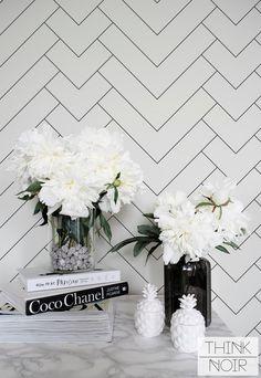 Minimalistic Geometric Pattern Regular Wallpaper / Simple Removable Wallpaper / Geometric Wall Mural / Geometric Wallpaper by ThinkNoirWallpaper on Etsy https://www.etsy.com/uk/listing/401069461/minimalistic-geometric-pattern-regular