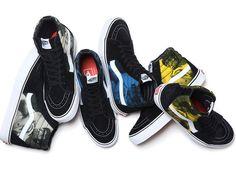 Supreme x VANS   Bruce Lee Footwear Collection