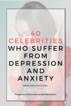 My hopes for this article are that you feel comfortable speaking up about your depression. Even celebrities are faced with the significant pressures of life and disappointment. Healing yourself is extremely important. Not all depression is temporary. Life has a way of throwing us curve ball after curve ball. Sometimes you don't have time to get over one thing before another thing happens.