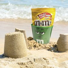 M&M's Canada - Your beach trip needs a bucket, and some snacks. Let us help you out with that.