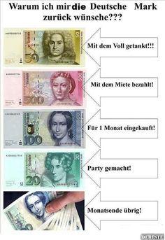 Warum ich mir die Deutsche Mark zurückwünsche!