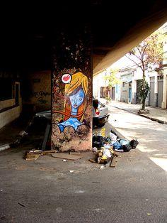 Ronah Carraro Brazilian graf artist