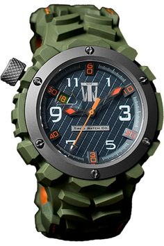 Tire'd Watch Green automatic