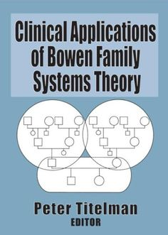 Clinical Applications of Bowen Family Systems Theory (eBook Rental) Social Work Interventions, Family Psychology, Social Work Practice, Professional Counseling, Making A Relationship Work, Therapy Tools, Therapy Ideas, Interpersonal Relationship, Family Therapy
