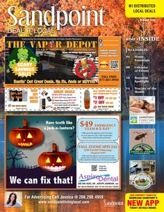 October 2016 Sandpoint Deal It Local | Sandpoint, Idaho | www.sandpointlivinglocal.com