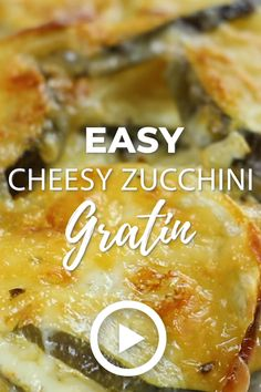 Easy Cheesy Zucchini Gratin - Low Carb & Keto Easy Cheesy Zucchini Gratin by I Breathe I'm Hungry. This is one of the best low carb and keto recipes. Pin made by . Comida Keto, Low Carb Side Dishes, Cooking Recipes, Healthy Recipes, Low Carb Summer Recipes, Summer Squash Recipes, Vegetarian Recipes Videos, Best Low Carb Recipes, Cheesy Recipes