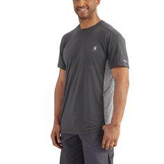 Carhartt FORCE EXTREMES™ SHORT SLEEVE T-SHIRT >> Cocona >> http://www.carhartt.com/products/carhartt-men-shirts/Force-Extremes™-Short-Sleeve-T-Shirt-101545