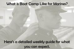 What is boot camp like in the Marine Corps? Check out our week by week guide for what you can expect if you want to earn the title United States Marine. The USMC's boot camp is the longest of all the services. Boot camp is fun time !