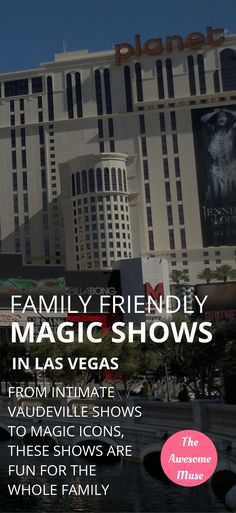Las Vegas is the magic capital of the world. There are some seriously terrific magic shows in Vegas, and some are great for kids too! 3 of my favorite shows are Xavier Mortimer's Magical Dream, Nathan Burton's Comedy Magic, and of course, icon David Copperfield's show. Check it out!   magic shows in Vegas   magic shows Las Vegas   visit Las Vegas   things to do in Las Vegas   Las Vegas tips   Las Vegas shows   entertainment in Las Vegas