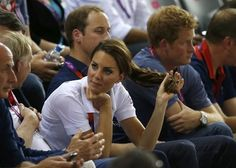 Kate being perfect....just look at the way she's playing with her hair!