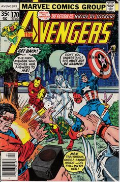 Avengers 1963 1st Series 170 April 1978 Issue  by ViewObscura, $1.50