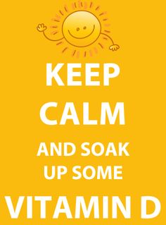 Our advice today....Get out and enjoy the Sunshine!! Stock up on your Vitamin D while you can :)