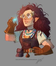 Illustration by: Ioana Muresan Fantasy Character Design, Character Creation, Character Design Inspiration, Character Concept, Character Art, Character Ideas, Dungeons And Dragons Characters, Dnd Characters, Fantasy Characters